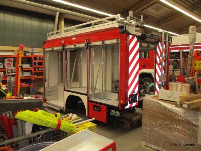 Weitere Bilder vom neuen Fahrzeug