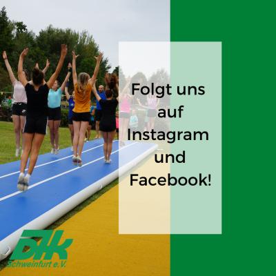Bild der Meldung: DJK jetzt auch auf Instagram und Facebook!