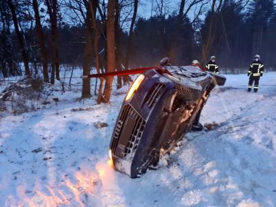 Foto zu Meldung: Unfall zwischen Damsdorf und Göhlsdorf
