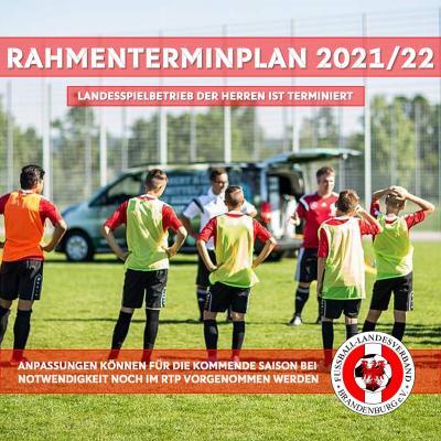 Rahmenterminplan für die neue Saison 2021/2022