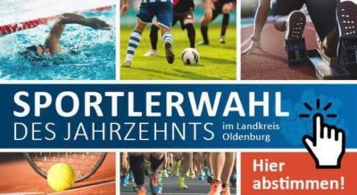 Foto zur Meldung: Jetzt abstimmen: Mareike Zetzmann und Felix Lingenau zu Sportlern des Jahrzehnts nominiert!