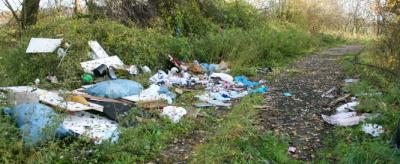 Illegale Müllablagerungen in der Gemeinde