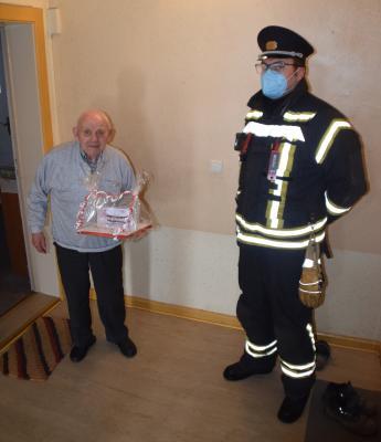 Foto zur Meldung: Herzlichen Glückwunsch zum 97. Geburtstag!