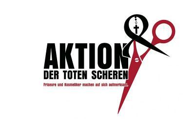 """Friseure im Lockdown – Aktion """"Tote Schere"""" und Petition"""