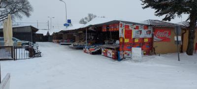Küstriner Polenmarkt im Schnee