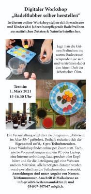 Foto zur Meldung: digitaler BadeBlubber Workshop