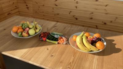 Obst und ab sofort Gemüse