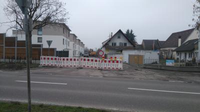 Straßenbauarbeiten im Bereich der Hinterstaße haben begonnen
