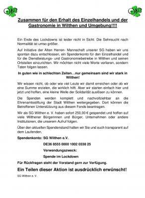 Zusammen für den Erhalt des Einzelhandels und der Gastronomie in Wilthen und Umgebung!!!!