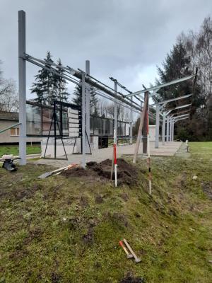 Baustelle Trapstand PSV Grimmen