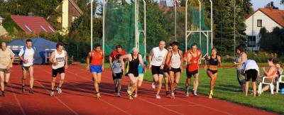 Foto zur Meldung: Abendsportfest mit Sportabzeichenabnahme