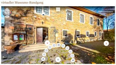 Neu: Unser Museum im virtuellen 360Grad-Rundgang