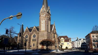 Johanneskirche am 13.2.2021