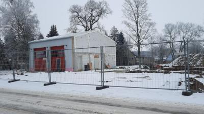 Foto zur Meldung: Feuerwehr im Winter