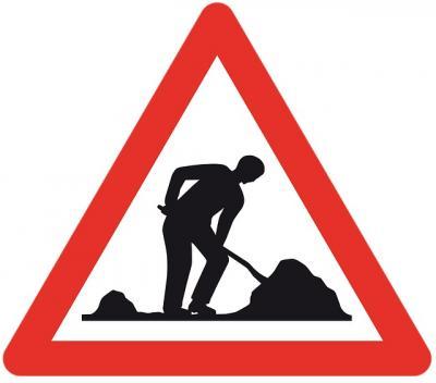 Vollzug der Straßenverkehrsordnung (StVO) - Vollsperrung Ginsterweg