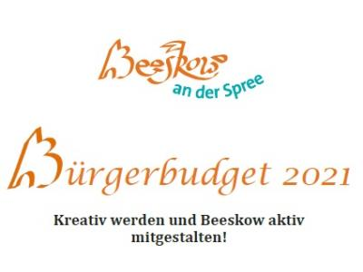 Bürgerbudget 2021