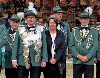 Schützenkönig Arne Boltze 2019