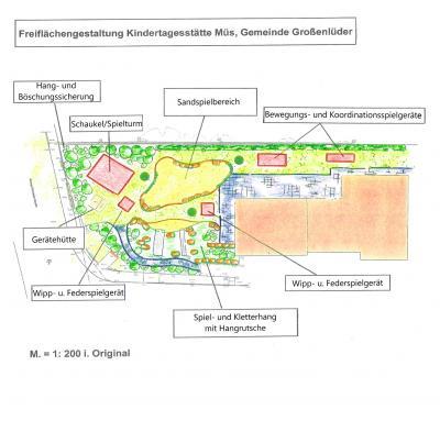 Plan Freiflächengestaltung Kita Müs