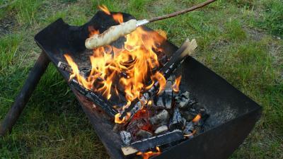 Foto zur Meldung: Gartenfeuer: was ist erlaubt - und was nicht?