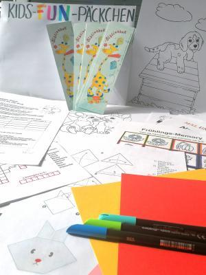 """Foto zur Meldung: """"Kids-Fun Päckchen"""" der Kinder- und Jugendförderung geht in die zweite Runde"""
