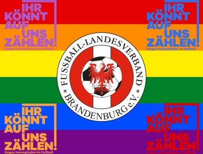 """""""Ihr könnt auf uns zählen! Gegen Homophobie im Fußball"""""""