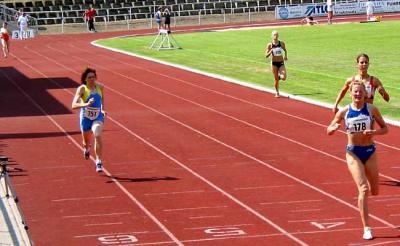 Simone Noack überrascht mit tollem W35 Rekord über 400m und Platz 3