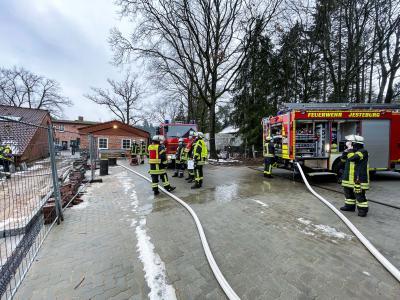 Bild der Meldung: Alarmierung durch Brandmeldeanlage (BMA) -  Feuer bei Dacharbeiten