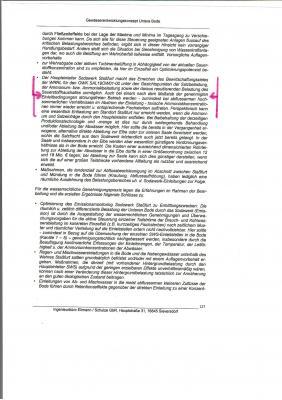 Auszug Gewässerentwicklungskonzept ,,Untere Bode,,