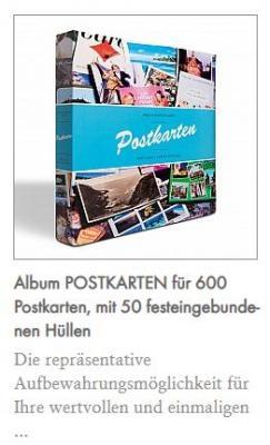 Alben für Post- und Ansichtskarten