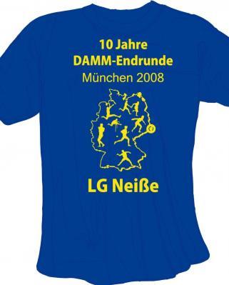 Einheitlich werden mehr als 30 Aktive mit dem T-Shirt in München auftreten
