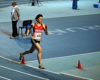Silvia Friedrich W50 - Europa-Meisterin mit der 4 x 200m-Staffel und Vizeeuropameisterin über 800m