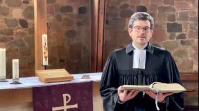 Foto zur Meldung: Gottesdienst zum 21.2.2021 aus der Pankratiuskapelle