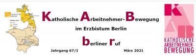 """Der neue """"berliner ruf"""" ist online."""