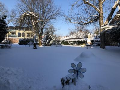 Winterlicher Demenz-Garten