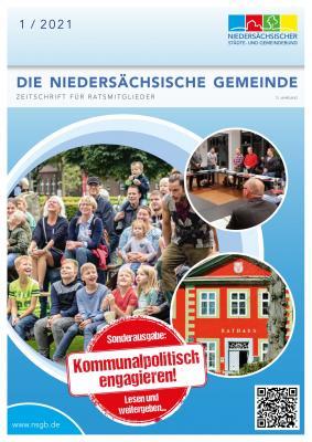 """Titelblatt der Zeitschrift """"Die Niedersächsische Gemeinde"""""""