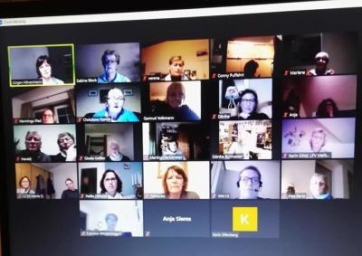 Kreisverbandssitzung - erstmalig digital