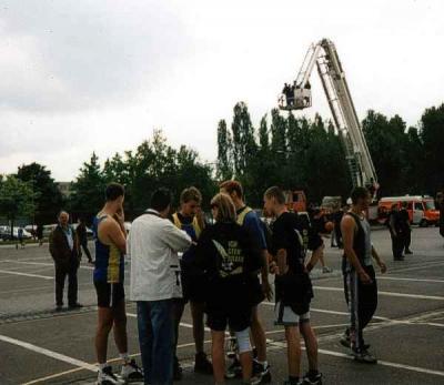 Foto zur Meldung: LAUBAG-Streetballturnier Basketball