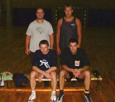 Foto zur Meldung: Fünftes Weihnachtsturnier Basketball 1999