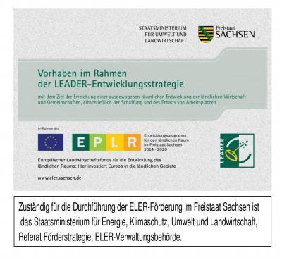 Vorhaben im Rahmen der LEADER-Entwicklungsstrategie - Ausbau des Fahrbahnabschnittes Haus 10-17 der Niethammerstraße im OT Kriebethal