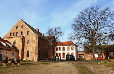 Foto zur Meldung: Neugestaltung der Außenanlagen der Burg Beeskow
