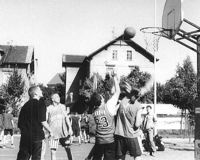 Foto zur Meldung: AOK-Streetballtour