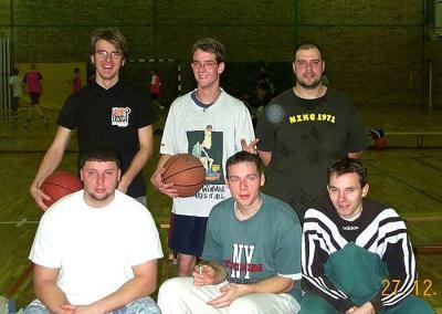 Foto zur Meldung: Weihnachtsturnier Basketball 2000