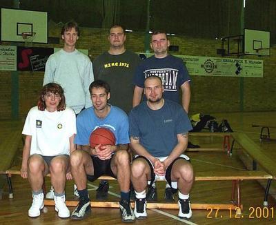 Foto zur Meldung: Weihnachtsturnier Basketball 2001
