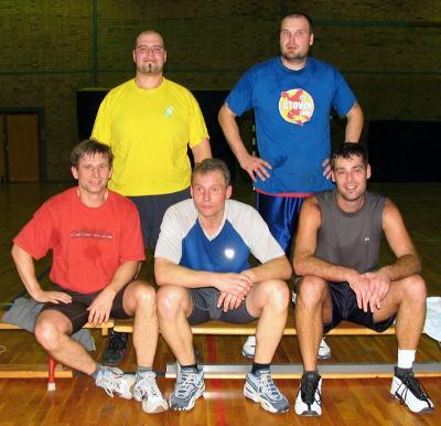 Foto zur Meldung: Weihnachtsturnier Basketball 2004