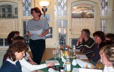 Foto zur Meldung: Jahreshauptversammlung 2004
