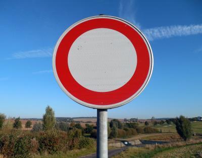 Foto zur Meldung: Fahrbahnsperrung im Bereich Zimmermannschneise/Berzallee