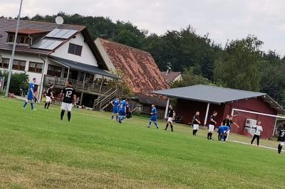 Testspiel gegen Hoßkirch