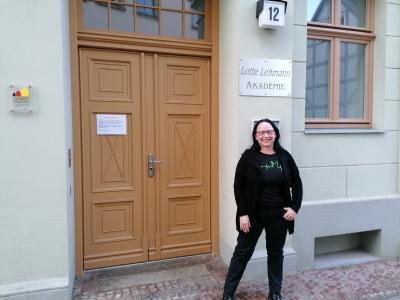 Stadt Perleberg | Schiedsfrau Dorit Hein ist neue Ansprechparnerin bei der Schlichtung von Nachbarschaftsstreitigkeiten.