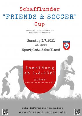 Anmeldestart für Friends & Soccer