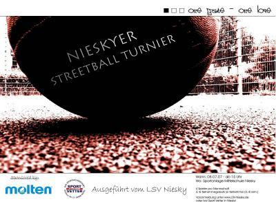 Foto zur Meldung: Nieskyer Streetballturnier